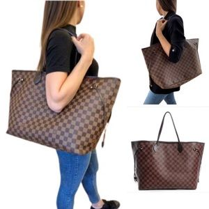 💎✨EXTRA LARGE✨💎 NEVERFULL GM DAMIER LOUIS VUITTON